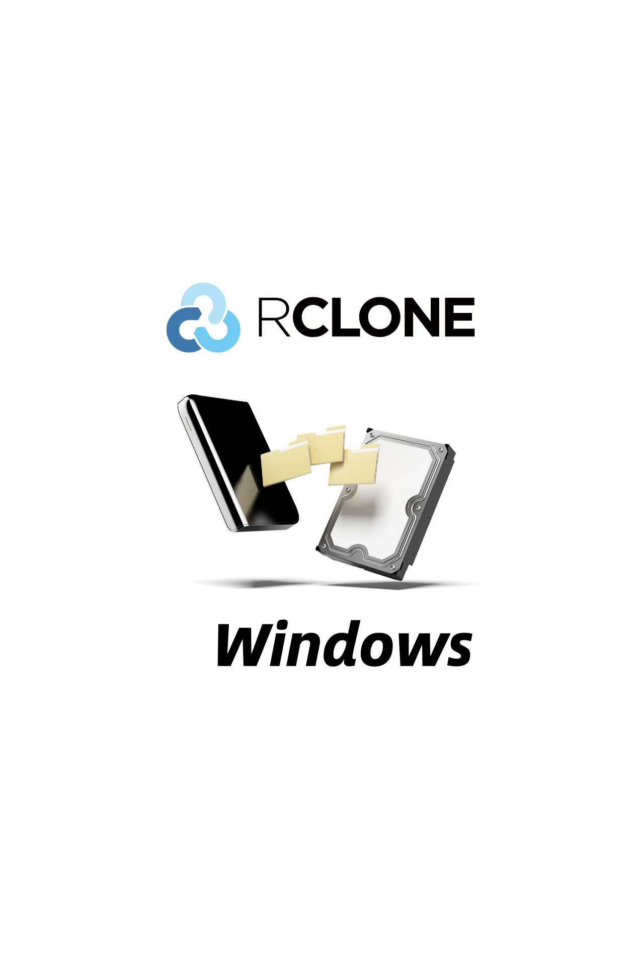 Rclone挂载OneDrive为本地硬盘-Windows篇